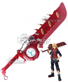 Xenoblade Chronicles : Definitive Edition Shulk Cosplay Weapon Prop