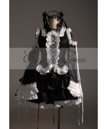 Vocaloid MIKU Infinite HOLiC Cosplay Costume-Advanced Custom