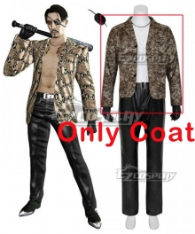 Yakuza Goro Majima Cosplay Costume - Only Coat