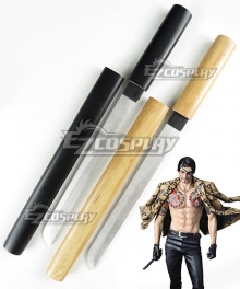Yakuza Goro Majima Sword Cosplay Weapon Prop