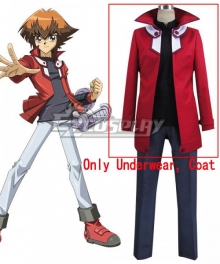 Yu-Gi-Oh! GX Judai Yuki Jaden Yuki Cosplay Costume - Only Underwear and Coat