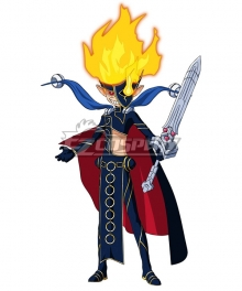 Yu-Gi-Oh! SEVENS Sevens Road Magician Cosplay Costume