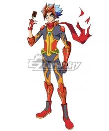 Yu-Gi-Oh! VRAINS Soulburner Takeru Homura Cosplay Costume