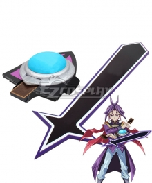 Yu-Gi-Oh! Yugioh ARC-V Yuri Purple Duel Disk Cosplay Weapon Prop