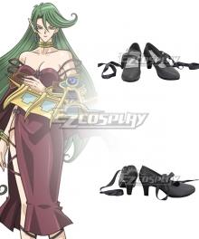Yu-Gi-Oh! Yugioh Camula Black Cosplay Shoes
