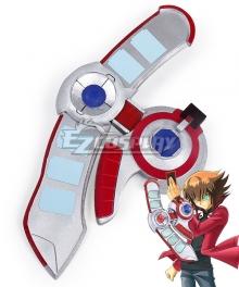 Yu-Gi-Oh! Yugioh GX Judai Yuki Jaden Yuki Osiris Red Duel Disk Cosplay Weapon Prop