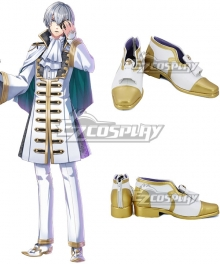 Yume 100 Sleeping Princes & The Kingdom Of Dreams Girbert Golden White Cosplay Shoes