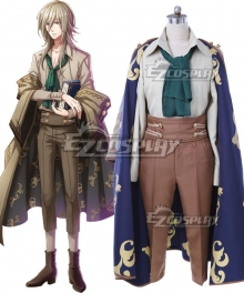 Yume 100 Sleeping Princes & The Kingdom Of Dreams Haku Cosplay Costume
