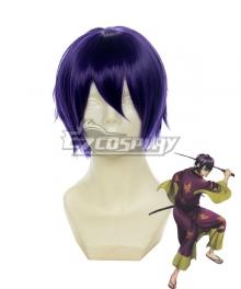Gintama Takasugi Shinsuke Purple Cosplay Wig 123A