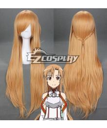 Sword Art Online SAO Sodo Ato Onrain Knights of the Blood Lambent Light Yuuki Asuna  Asuna Yuki Long Orange-brownish Chestnut Hair Cosplay Wig - 314B