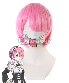 Re: Life In A Different World From Zero Ram Pink Cosplay Wig 400D