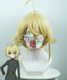 Saga of Tanya the Evil Tanya von Degurechaff Yellow Cosplay Wig 436A