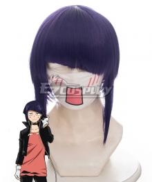 My Hero Academia Boku no Hero Akademia Kyouka Jirou Purple cosplay Wig 445E