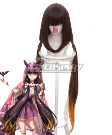 Fate Grand Order Assassin Osakabehime Brown Cosplay Wig 235Q