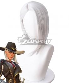 Overwatch OW Elizabeth Caledonia Calamity Ashe White Cosplay Wig - 419K