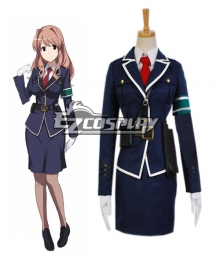 RAIL WARS! Haruka Komi Uniform Cosplay Costume