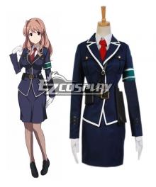 RAIL WARS! Haruka Komi Uniform Cosplay Costume
