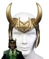 Marvel Loki 2021 Loki Helmet Horn Mask Halloween Cosplay Accessory Prop