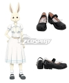 Beastars Haru Black Cosplay Shoes