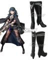 Fire Emblem: Three Houses Female Byleth Black Shoes Cosplay Boots