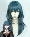 Fire Emblem: Three Houses Female Byleth Grey Green Cosplay Wig