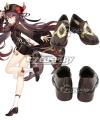 Genshin Impact Hu Tao Black Cosplay Shoes