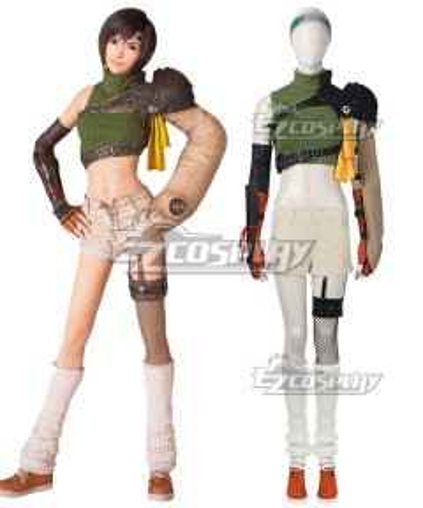 Final Fantasy VII Remake Intergrade FF7 Yuffie Kisaragi Cosplay Costume