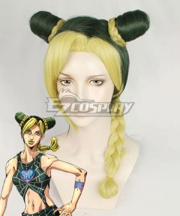 JoJo's Bizarre Adventure: Stone Ocean Anime Jolyne Cujoh Green Cosplay Wig