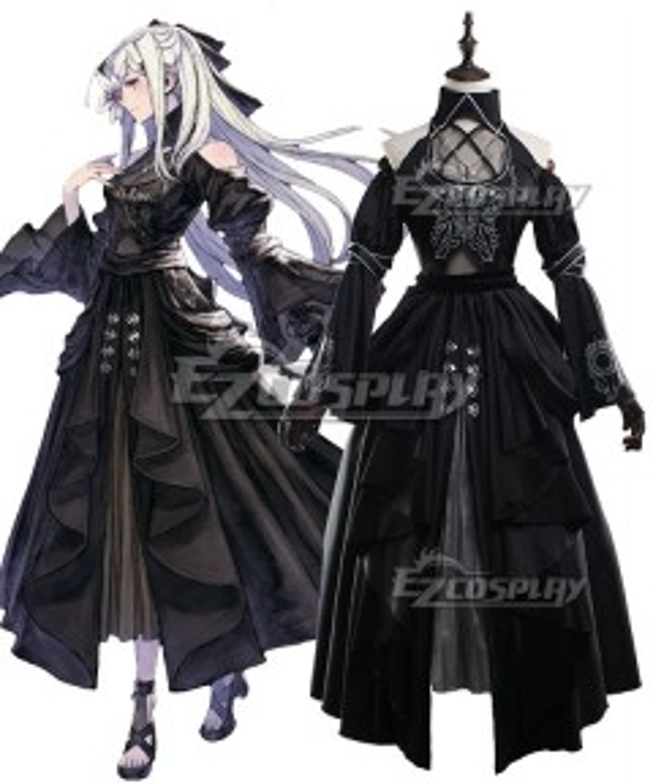 NieR Re[in]carnation Reincarnation Drag On Dragoon Zero Cosplay Costume