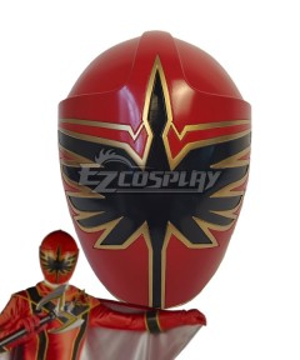 Power Rangers Mystic Force Red Mystic Ranger Helmet Cosplay Accessory Prop