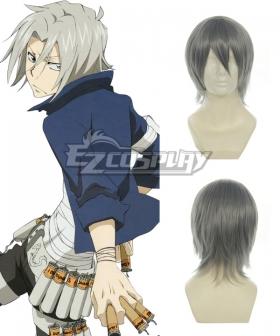Hitman Reborn Gokudera Hayato Grey Cosplay Wig 005A