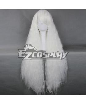 Japan Harajuku Series White Curly Hair Cosplay Wig - RL027B