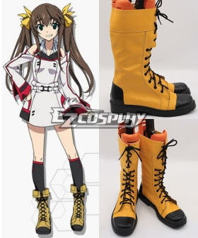 Infinite Stratos Lingyin Huang Cosplay Boots