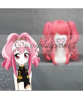 Code Geass Anya Alstreim Pink Cosplay Wave Wig-075A