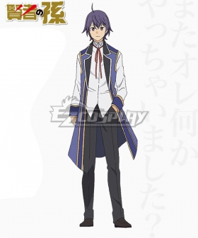 Kenja no Mago Shin Walford August von Earlshide Cosplay Costume