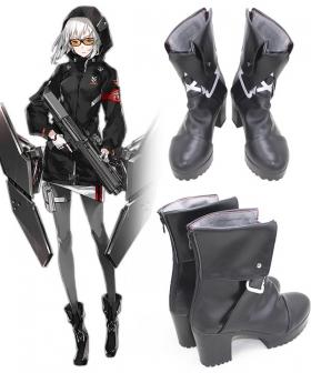 Girls' Frontline Kel-Tec KSG Black Cosplay Shoes