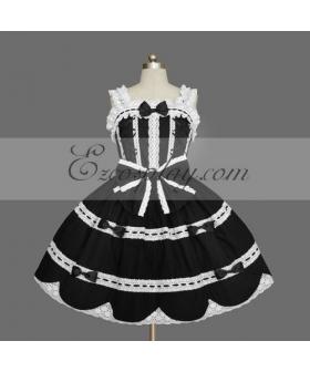 Black Gothic Lolita Dress -LTFS0132