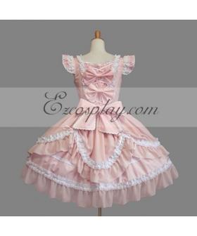 Pink Gothic Lolita Dress -LTFS0133