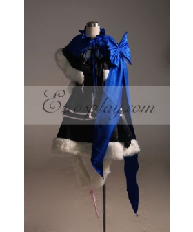 Vocaloid kaito Female Derivative Version Cosplay Costume-Advanced Custom