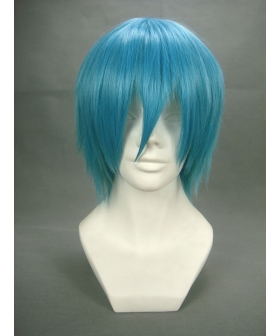 Soul Eater Black Star Royal Blue Cosplay Wig 188F