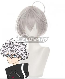 Tokyo Revengers Akashi Senju Silver Cosplay Wig