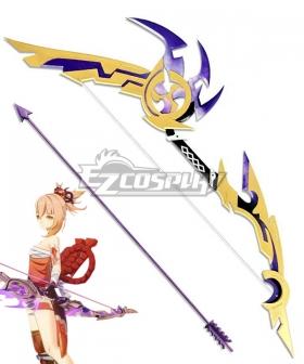Genshin Impact Yoimiya Thundering Pulse Bow Cosplay Weapon Prop-Simple Version