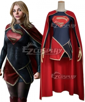 DC Comics The Flash Supergirl Kara Zor El Cosplay Costume