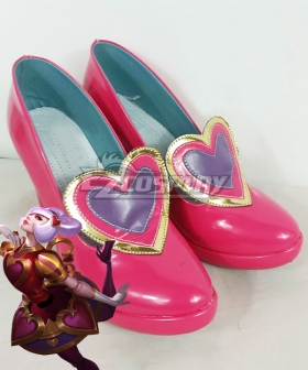 League Of Legends LOL valentine's Orianna Cosplay Shoes
