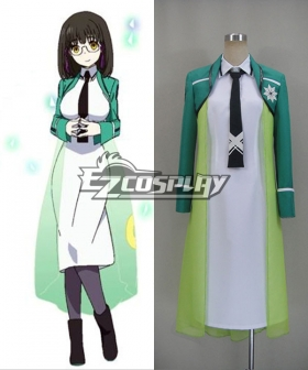 Mahouka Koukou no Rettousei / The Irregular at Magic High School Mitsui Honoka First High School Course 1 Cosplay Costume
