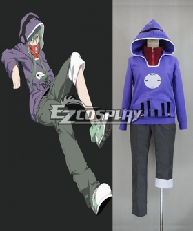 Mekakucity actors Kagerou Project KIDO TSUBOMI Purple Cosplay Costume