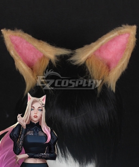 League Of Legends LOL 2020 KDA K/DA Ahri Ears Cosplay Accessory Prop