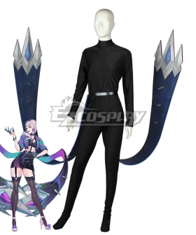 League Of Legends LOL 2020 K/DA KDA All Out Evelynn Cosplay Weapon Prop