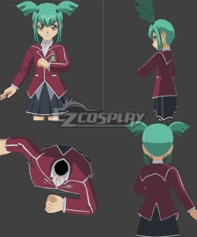 Yu-Gi-Oh! Yugioh 5D's Luna Cosplay Costume