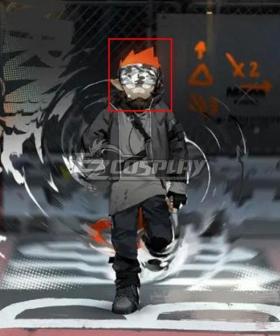 Arknights Ethan Epoque Orange Cosplay Wig
